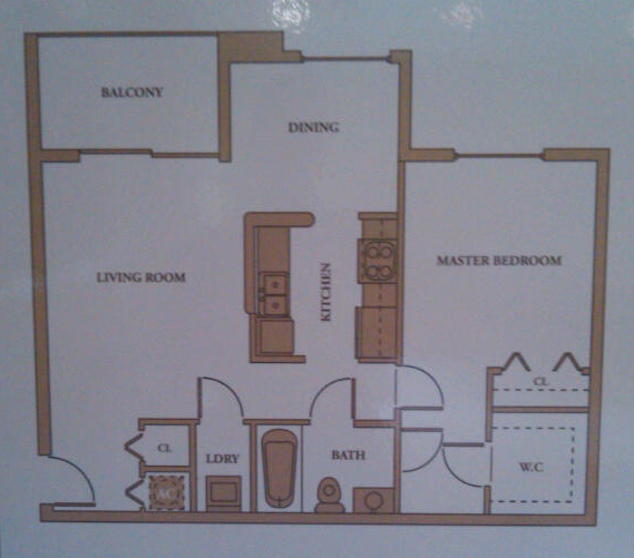 1 bedroom model royal grand condos davie fl 33328 for 1 bedroom condo floor plans