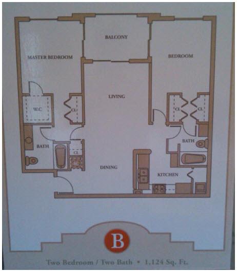 royal grand 2 bedroom floor plan