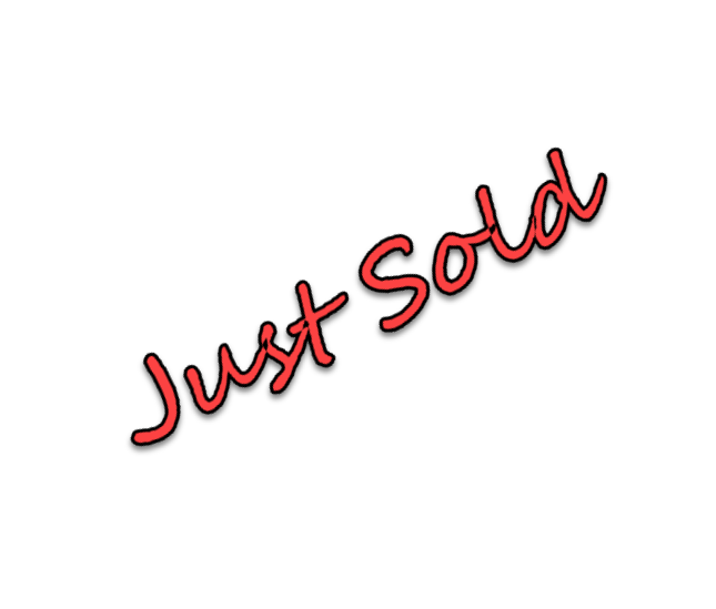just sold sign for