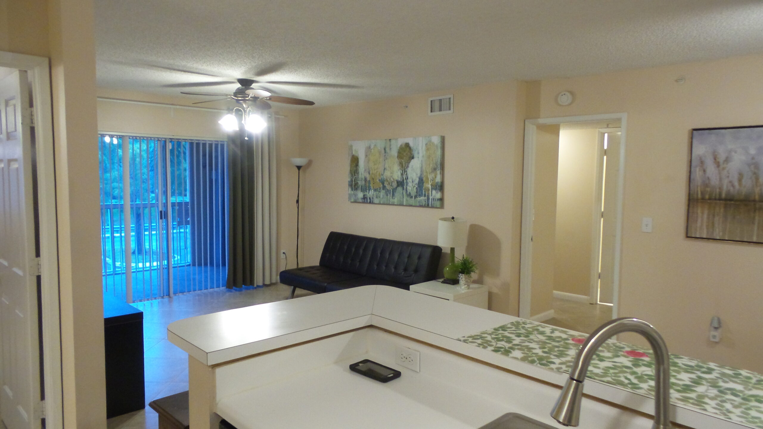 additonal view of kitchen and living room 2600 unit 221