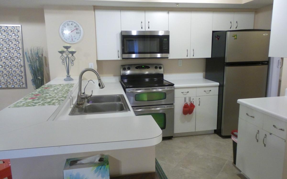 kitchen view royal grand condominium 2600 unit 221