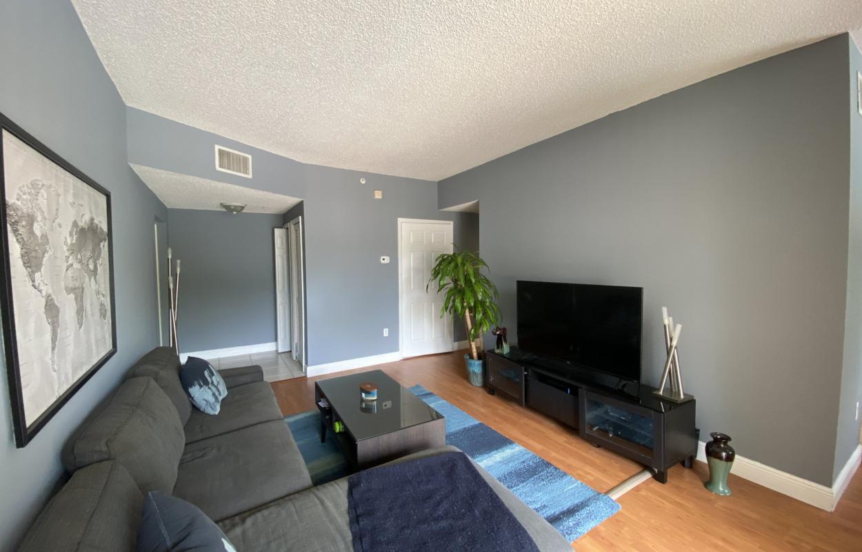 living room university parc residence condominium davie fl unit 220