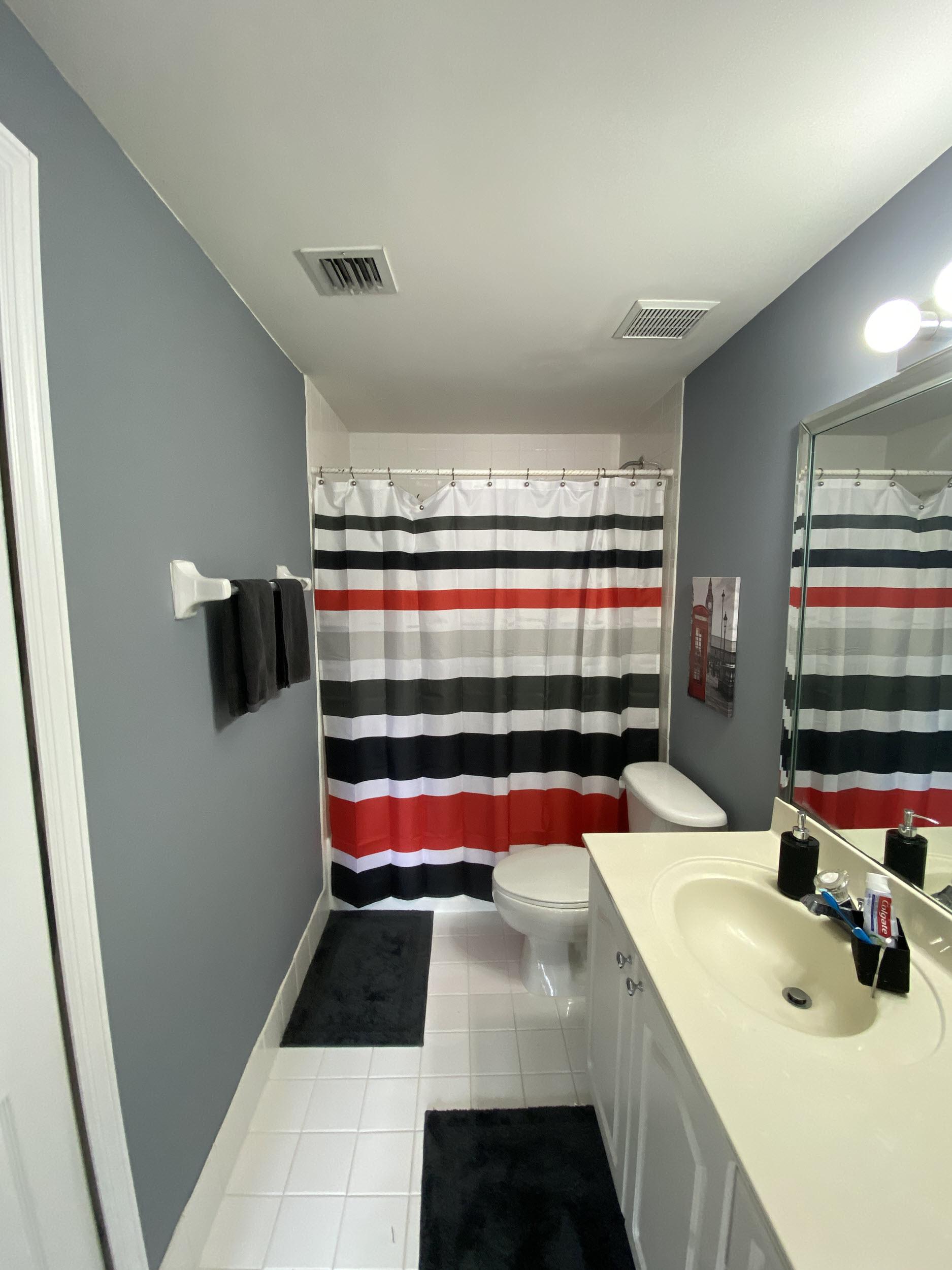 master bathroom view university parc residence unit 218